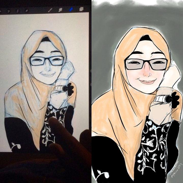 Fariz iPad Painting