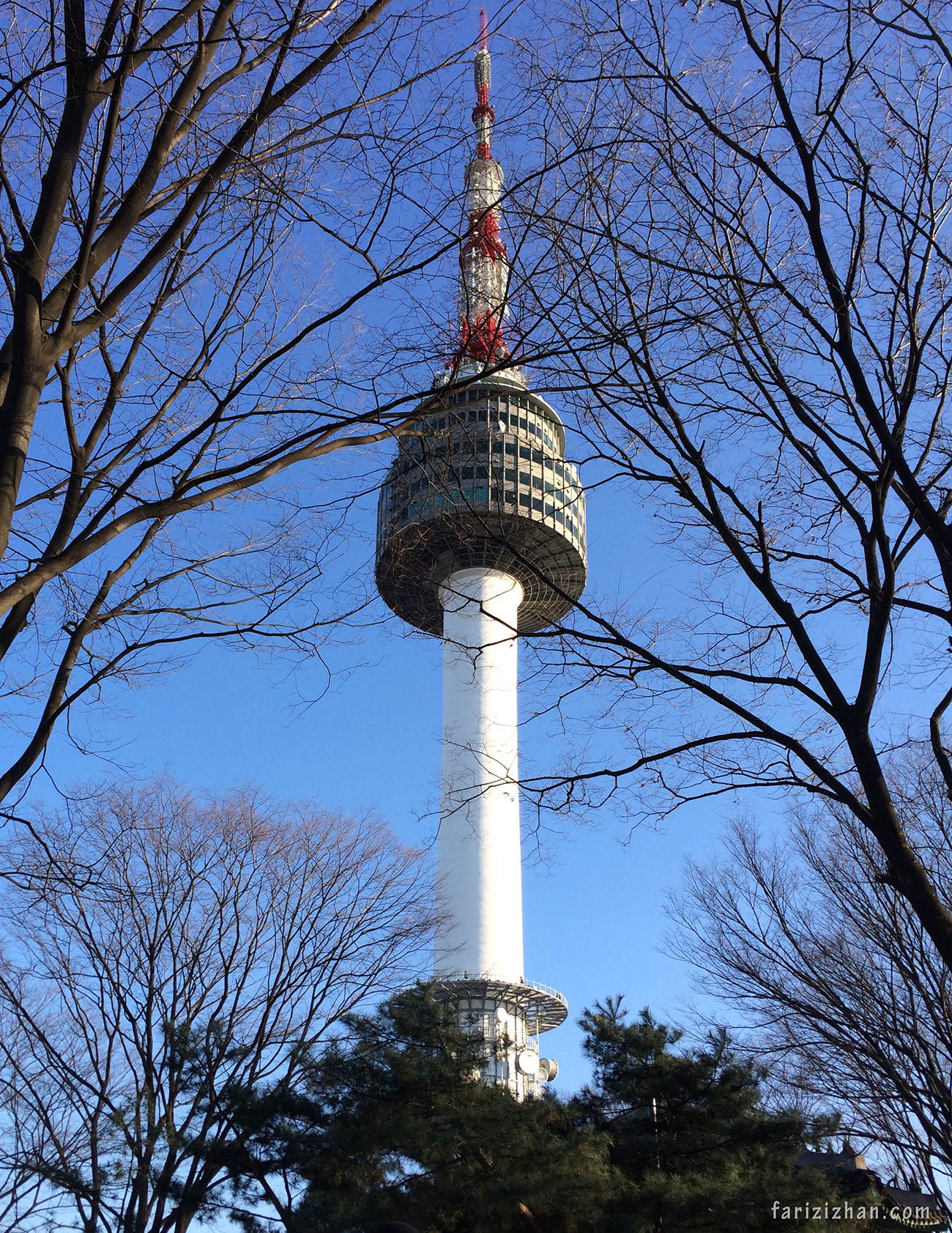 Seoul Tower - iPhone 5s