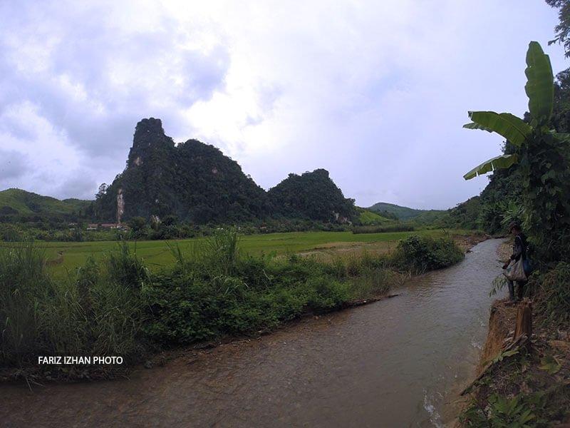 sawah-padi-sungai-banthamtai-laos